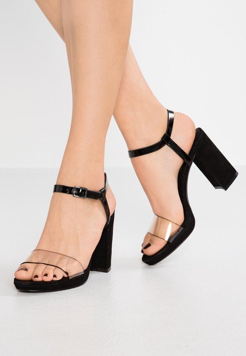 KIOMI - Højhælede sandaletter / Højhælede sandaler - black