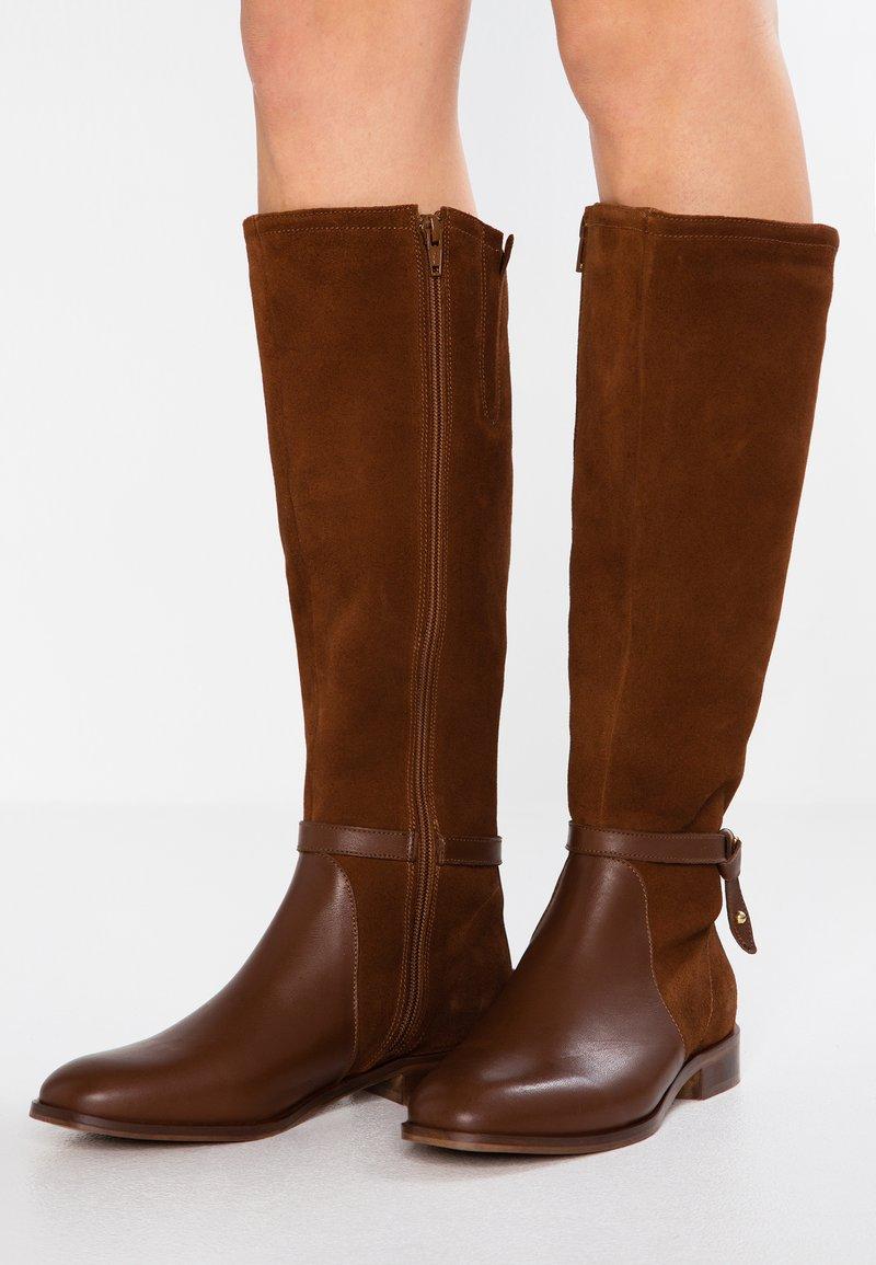 KIOMI - Boots - cognac