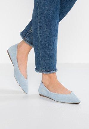 Ballet pumps - light blue