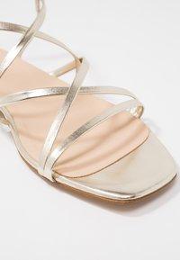 KIOMI - Sandales - gold - 2