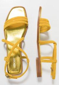 KIOMI - Sandaalit nilkkaremmillä - yellow - 3