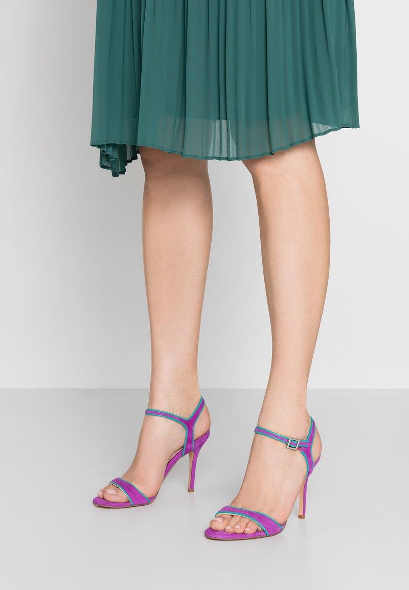 KIOMI - High Heel Sandalette - purple