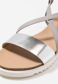 KIOMI - Sandals - silver - 2