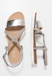 KIOMI - Sandals - silver - 3