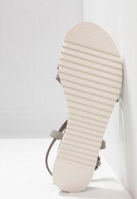 KIOMI - Sandals - silver - 6