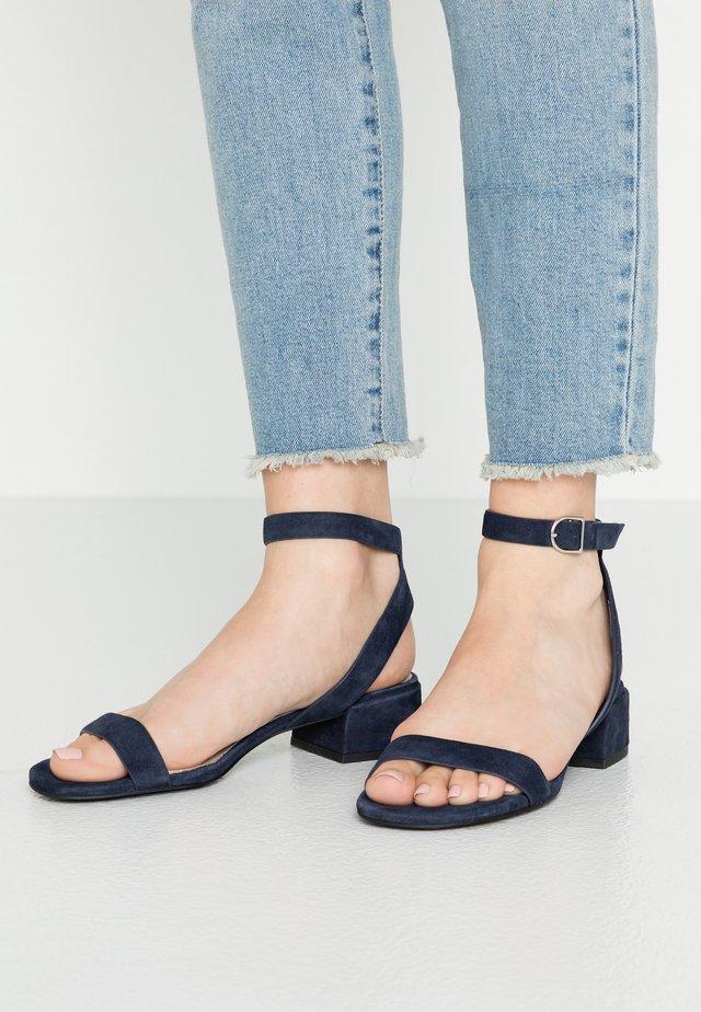Sandały - dark blue