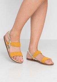 KIOMI - Sandals - yellow - 0