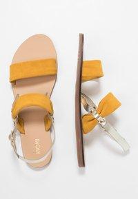 KIOMI - Sandals - yellow - 3