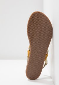 KIOMI - Sandals - yellow - 6