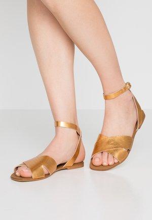Sandály - bronze