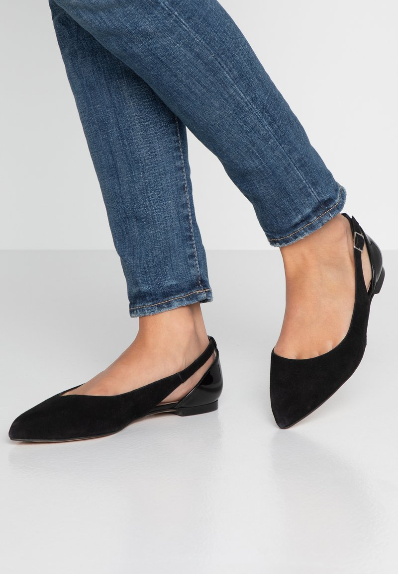 KIOMI Wide Fit - Ballet pumps - black