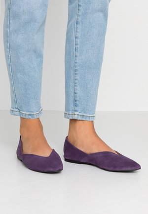 Ballet pumps - purple