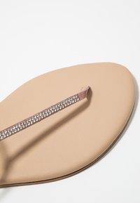 KIOMI - T-bar sandals - rose - 2