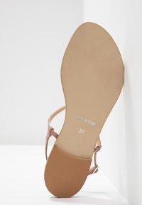 KIOMI - T-bar sandals - rose - 6