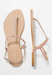 KIOMI - T-bar sandals - rose - 3