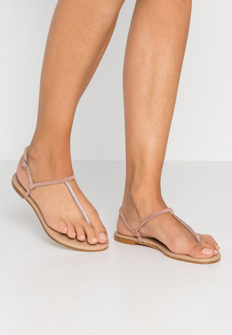 KIOMI - T-bar sandals - rose