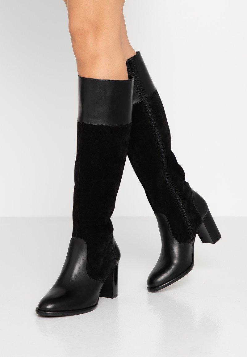 KIOMI - Vysoká obuv - black