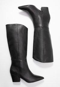 KIOMI - Cowboy- / Bikerboots - black - 3