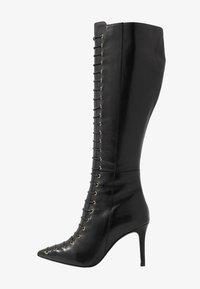 KIOMI - Šněrovací vysoké boty - black - 1