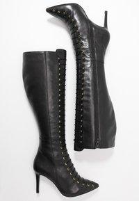 KIOMI - Šněrovací vysoké boty - black - 3