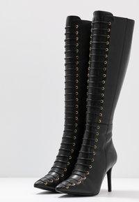 KIOMI - Bottes à lacets - black - 4