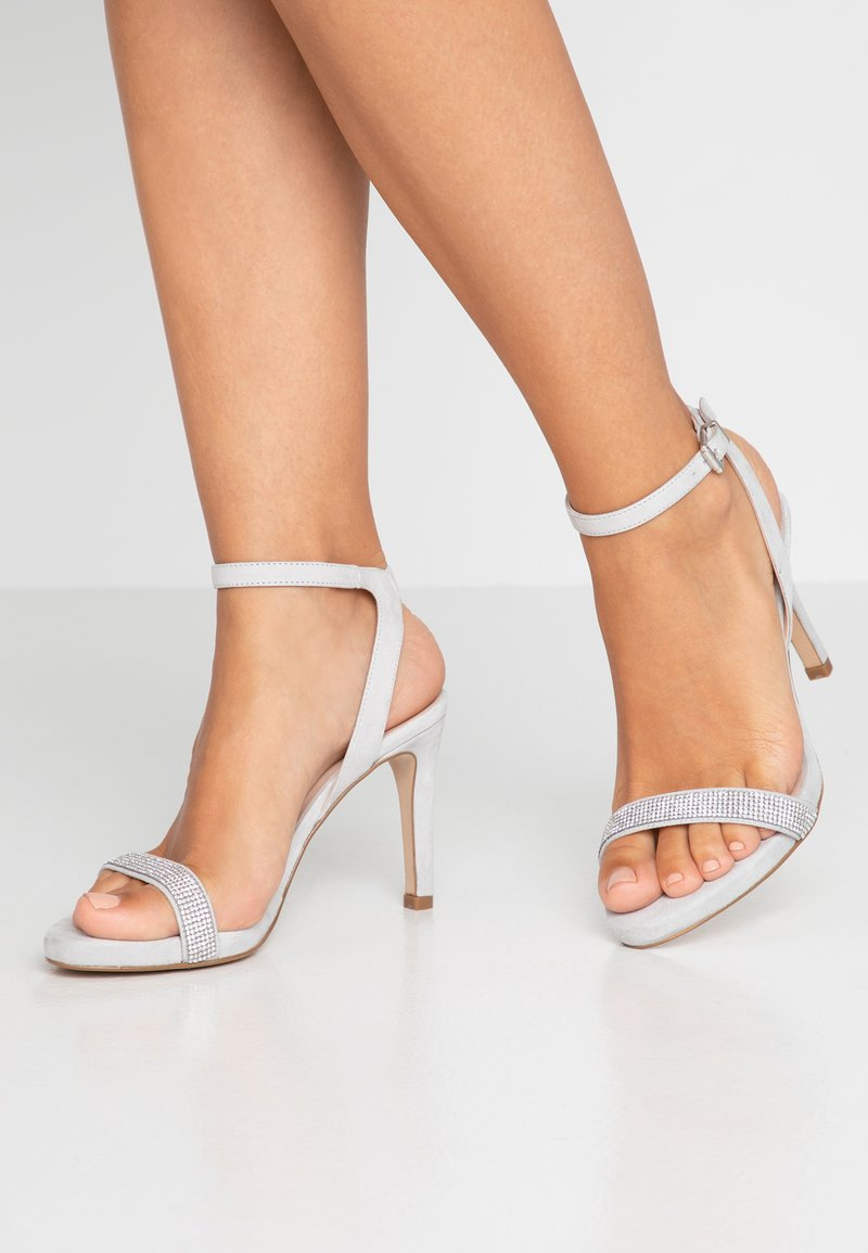 KIOMI - High heeled sandals - light grey
