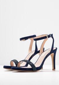 KIOMI - High heeled sandals - dark blue - 4