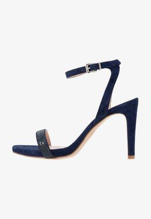 Korolliset sandaalit - dark blue