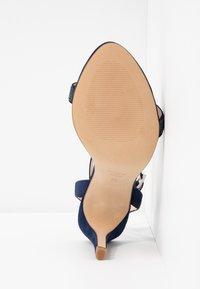 KIOMI - High heeled sandals - dark blue - 6