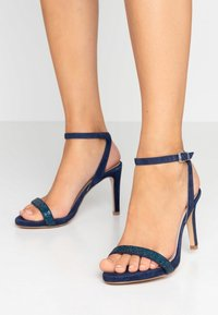 KIOMI - High heeled sandals - dark blue - 0