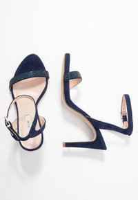 KIOMI - High heeled sandals - dark blue - 3
