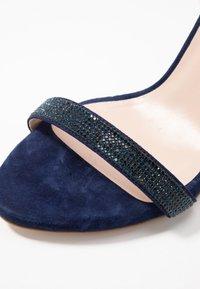 KIOMI - High heeled sandals - dark blue - 2