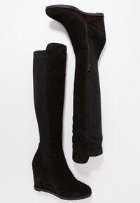 KIOMI - Stivali con la zeppa - black - 4