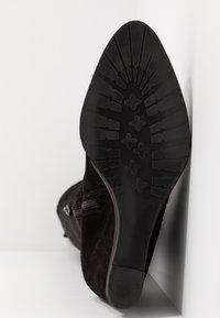 KIOMI - Stivali con la zeppa - black - 6