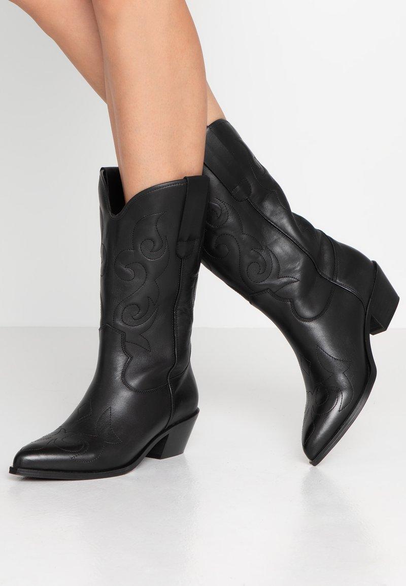 KIOMI - Cowboy/Biker boots - black