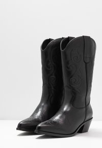 KIOMI - Cowboy- / Bikerboots - black - 4