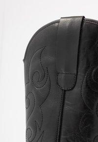 KIOMI - Cowboy- / Bikerboots - black - 2