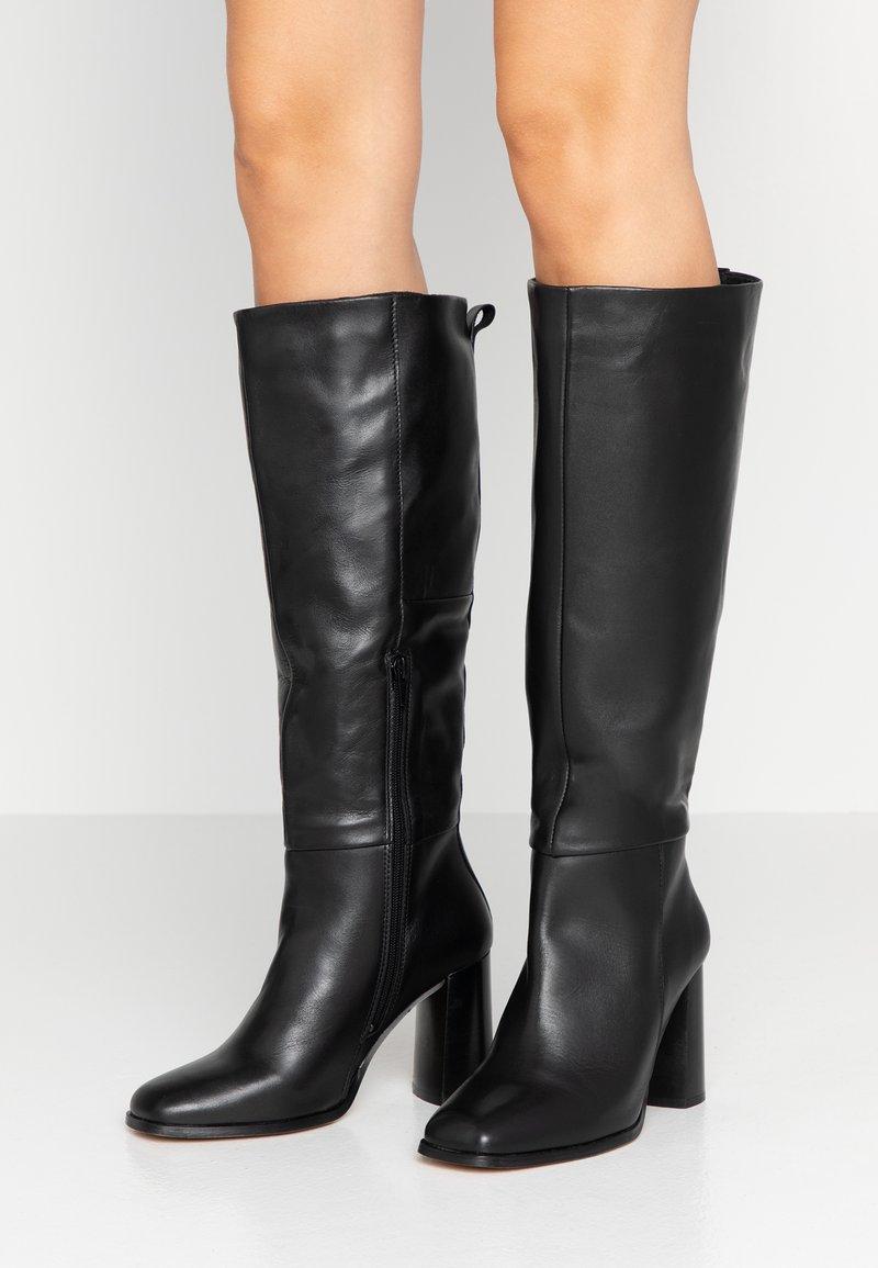 KIOMI - High Heel Stiefel - black