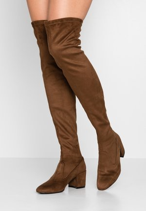 Stivali sopra il ginocchio - brown
