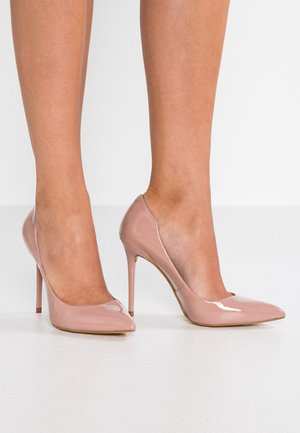 Høye hæler - nude