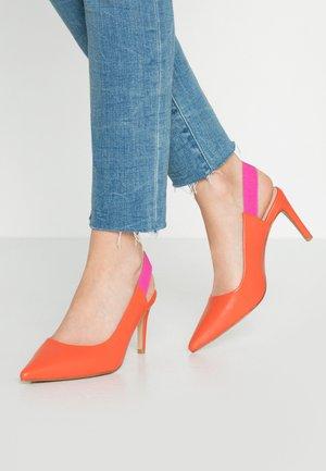 High heels - orange