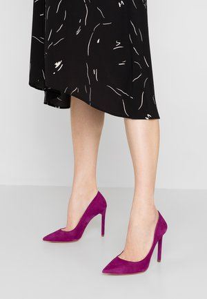 High heels - purple