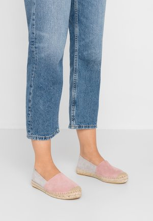 Espadrille - light grey