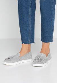 KIOMI - Nazouvací boty - light grey - 0
