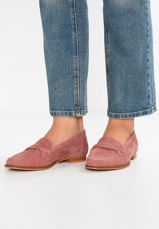 Slipper - mauve