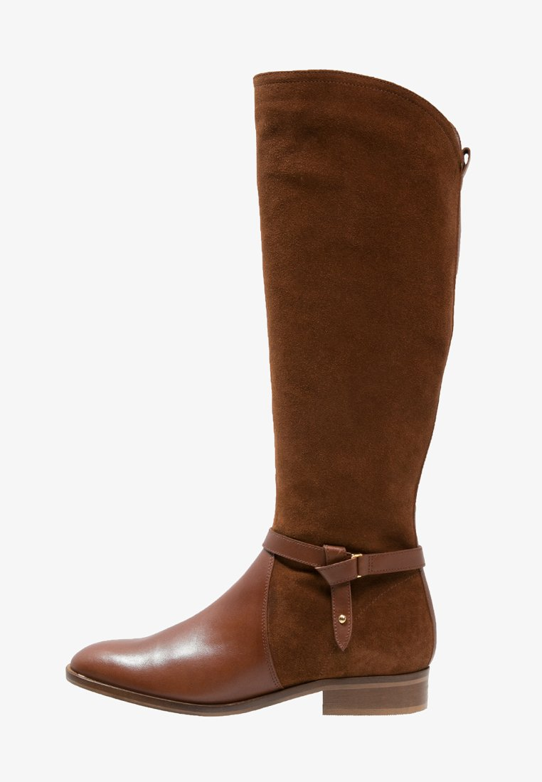 KIOMI - Boots - brandy