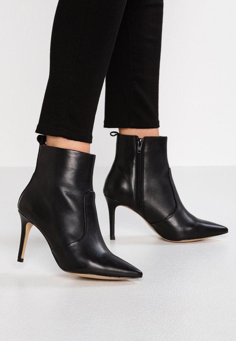 KIOMI Wide Fit - High heeled ankle boots - black
