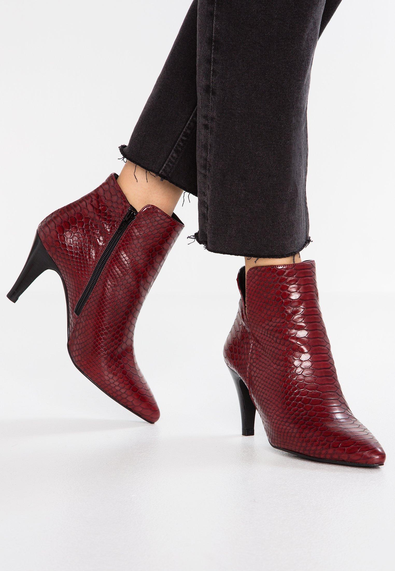 Boots TalonsDark Red À Kiomi beHED9W2IY