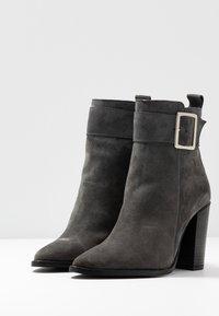 KIOMI - Classic ankle boots - dark gray - 4