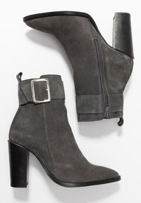 KIOMI - Classic ankle boots - dark gray - 3